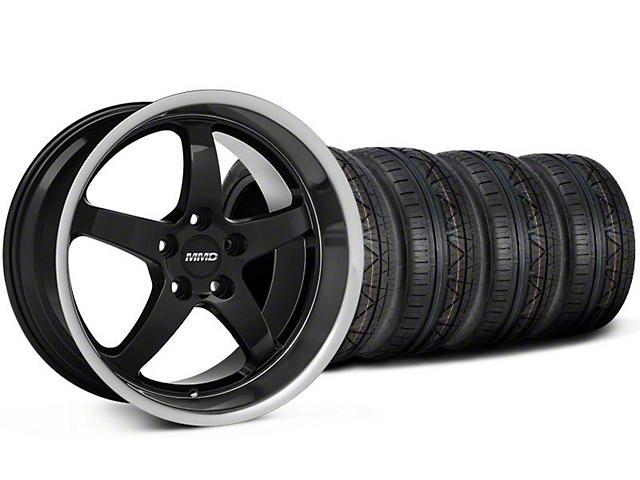 MMD Kage Black Wheel & NITTO INVO Tire Kit - 19x8.5 (05-14 GT,V6)
