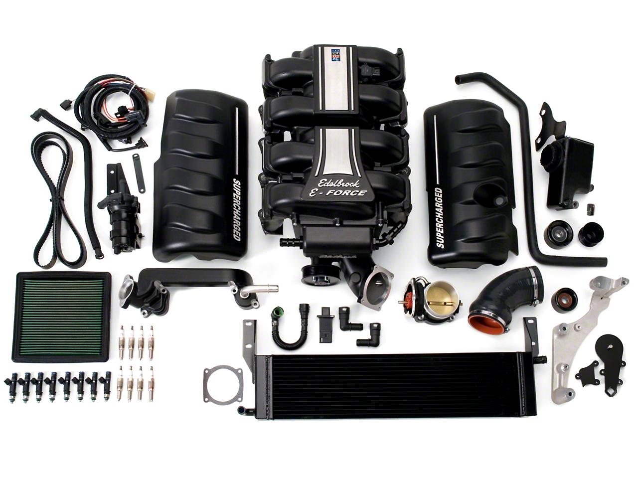 Edelbrock E-Force Stage 1 Street Supercharger - Tuner Kit (10 GT)