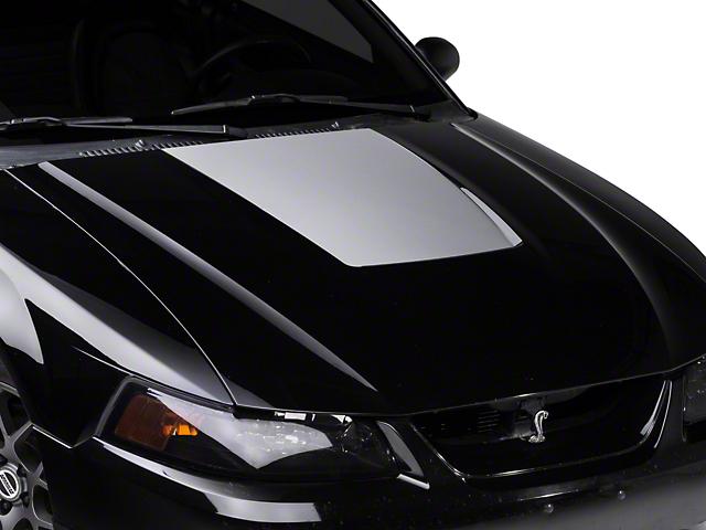 Silver Hood Decal (99-01 Cobra; 03-04 V6)