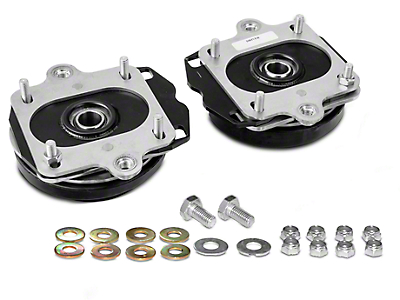 J&M Adjustable Caster Camber Plates (11-14 All; Excludes GT500)