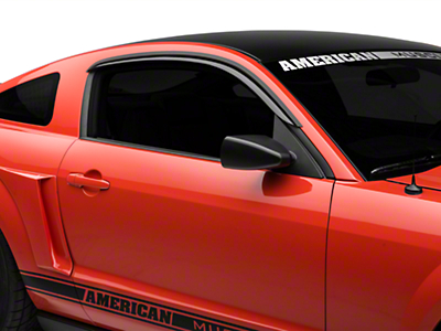 AVS Smoked Ventvisors - Coupe (05-09 All)