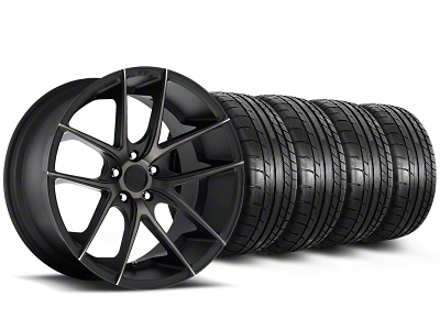 Niche Targa Black Wheel & Mickey Thompson Tire Kit - 19x8.5 (05-14 All)
