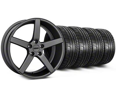 MMD 551C Charcoal Wheel & Mickey Thompson Tire Kit - 19x8.5 (05-14 All)