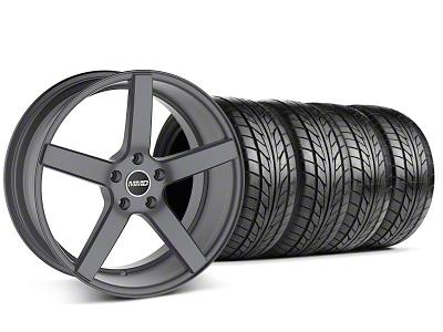 MMD 551C Charcoal Wheel & NITTO Tire Kit - 20x8.5 (05-14 All)