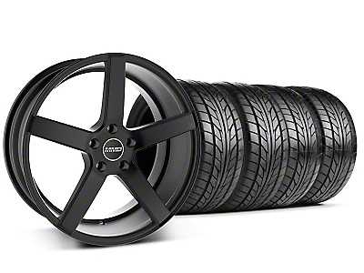 MMD 551C Black Wheel & NITTO Tire Kit - 20x8.5 (05-14 All)