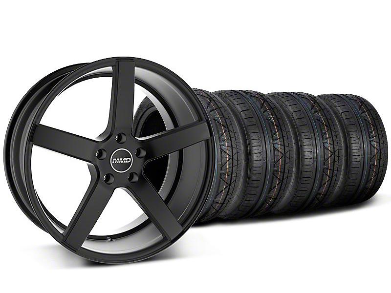 MMD 551C Black Wheel & NITTO INVO Tire Kit - 20x8.5 (05-14 All)