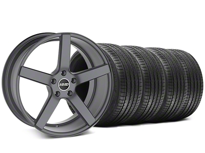 MMD 551C Charcoal Wheel & Sumitomo Tire Kit - 20x8.5 (05-14 All)