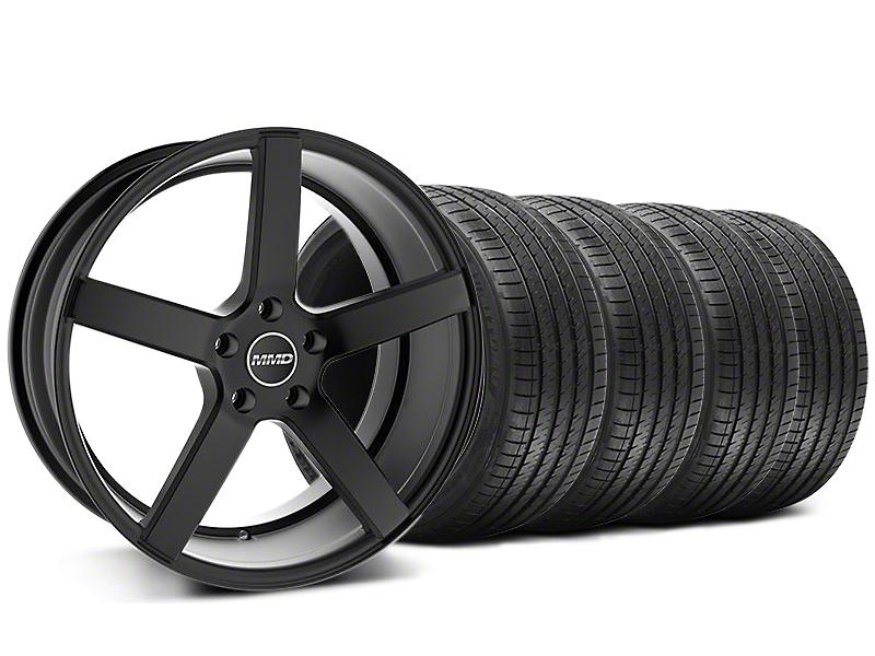 MMD 551C Black Wheel & Sumitomo Tire Kit - 20x8.5 (05-14 All)
