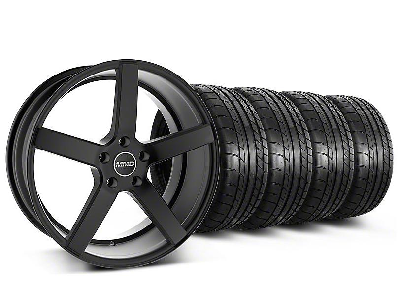 MMD 551C Black Wheel & Mickey Thompson Tire Kit - 20x8.5 (05-14 All)
