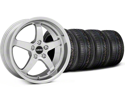 MMD Kage Polished Wheel & NITTO INVO Tire Kit - 18x9 (05-14 V6; 05-10 GT)