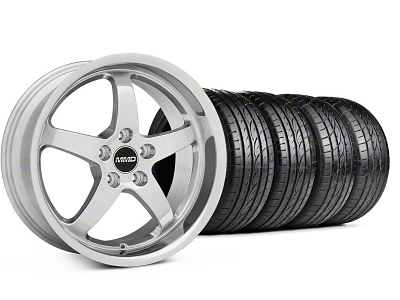 MMD Staggered Kage Polished Wheel & Sumitomo Tire Kit - 18x9/10 (05-14 V6; 05-10 GT)