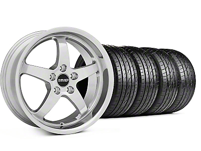 Staggered MMD Kage Polished Wheel & Sumitomo Tire Kit - 18x9/10 (05-14 V6; 05-10 GT)