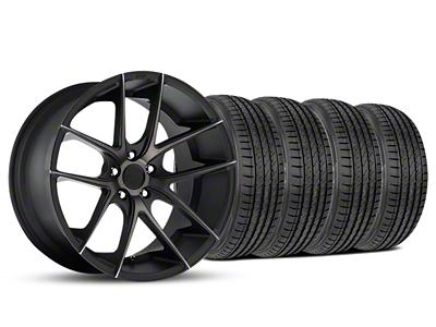 Niche Staggered Targa Black Wheel & Sumitomo Tire Kit - 19x8.5/9.5 (05-14 All)