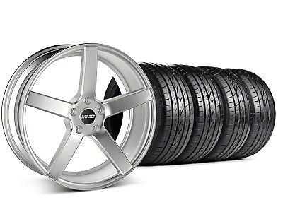 MMD Staggered 551C Silver Wheel & Sumitomo Tire Kit - 19x8.5/10 (05-14 All)