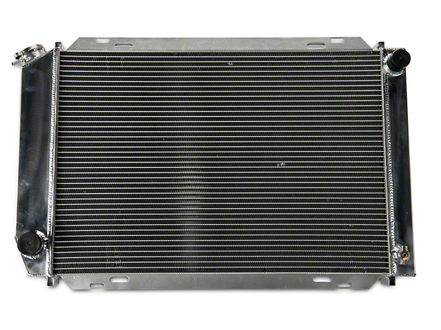 SR Performance Aluminum Radiator - Manual (79-93 5.0L)
