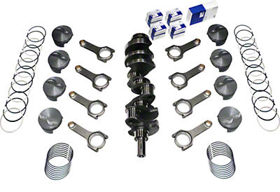 Scat Stroker 331 ci Forged Competition Rotating Assembly (79-95 5.0L)