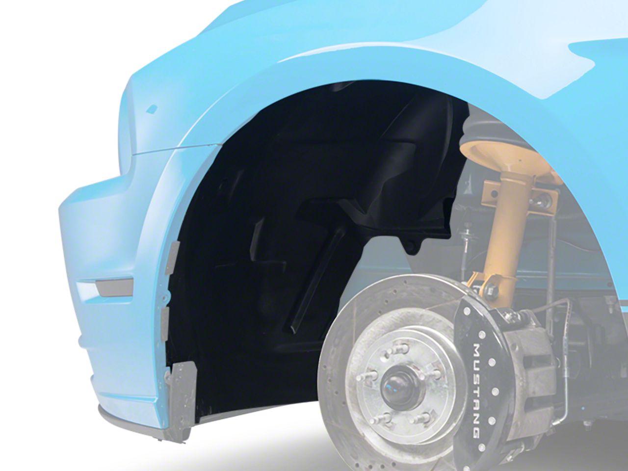 Add Inner Fender Splash Shield - Left Side