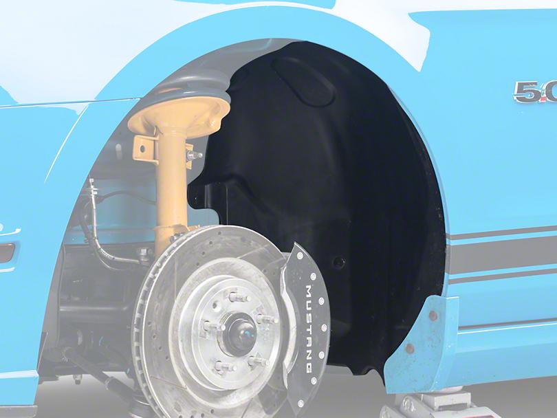 Inner Quarter Panel Splash Shield - Left Side (10-14 All)