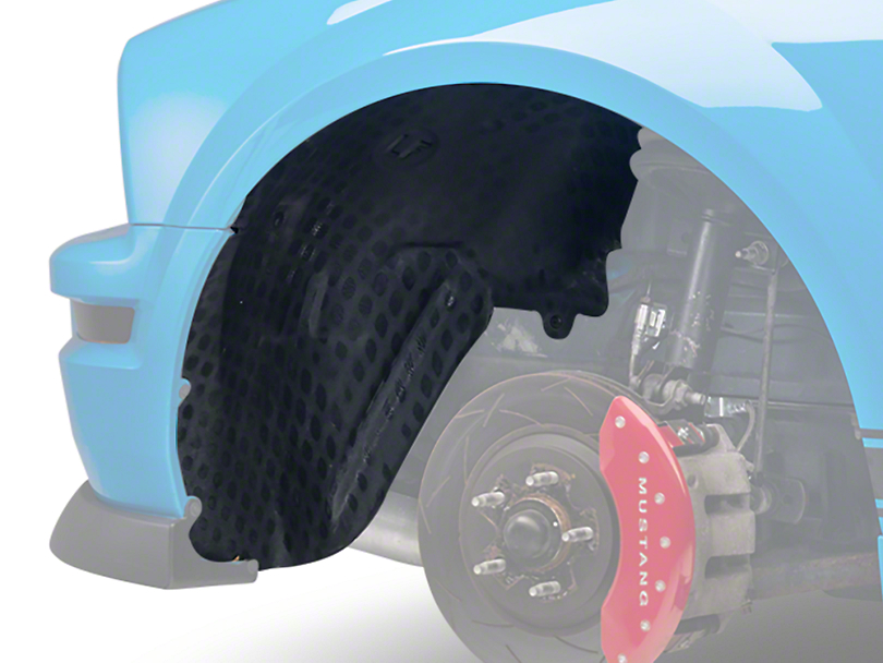 Inner Fender Splash Shield - Left Side (05-09 V6)