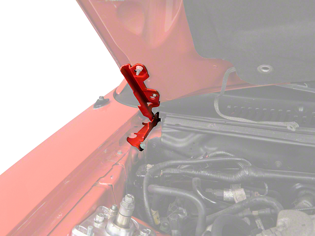 Hood Hinge - Right Side (94-04 All)