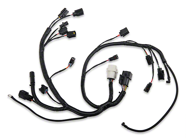 OPR Mustang Fuel Injector Wiring Harness 100628 (87-93 5