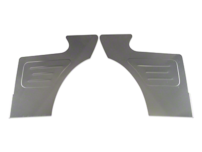 Scott Rod Rear Seat Delete Quarter Panels - Coupe (87-93 All)