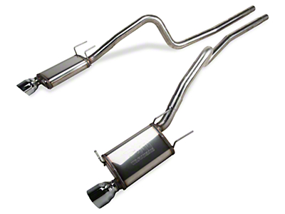 Magnaflow Street Catback Exhaust - 4.5 in. Tips (13-14 V6)