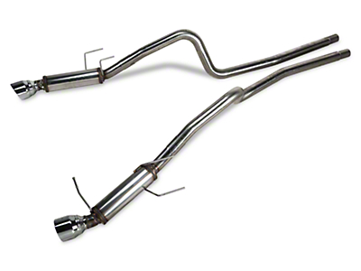 Magnaflow Competition Catback Exhaust - 4.5 in. Tips (13-14 V6)
