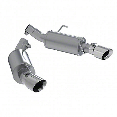 MBRP Axle-Back Exhaust - Stainless Steel (05-10 GT)