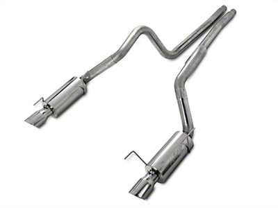 MBRP Street Catback Exhaust - Stainless Steel (05-09 GT; 07-10 GT500)