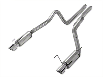 MBRP Race Catback Exhaust - Stainless Steel (05-09 GT; 07-10 GT500)