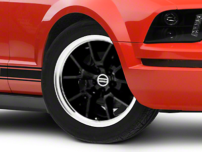 Deep Dish FR500 Style Black Wheel - 18x10 (05-14 All)