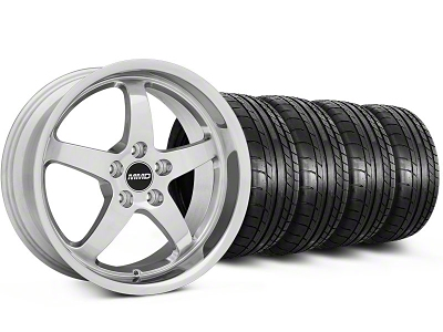 MMD Staggered Kage Polished Wheel & Mickey Thompson Tire Kit - 19x8.5/10 (05-14 GT,V6)