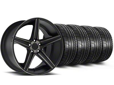 Niche Staggered Apex Matte Black Wheel & Mickey Thompson Tire Kit - 20x8.5/10 (05-14 All)