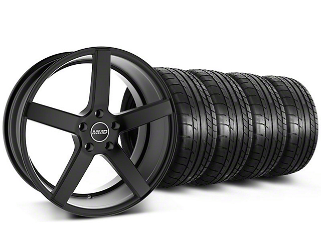 Staggered MMD 551C Black Wheel & Mickey Thompson Tire Kit - 20x8.5/10 (05-14 All)