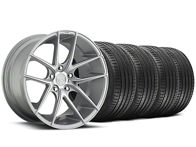 Niche Staggered Targa Matte Silver Wheel & Sumitomo Tire Kit - 20x8.5/10 (05-14 All)