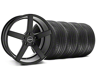 MMD Staggered 551C Black Wheel & Sumitomo Tire Kit - 20x8.5/10 (05-14 All)