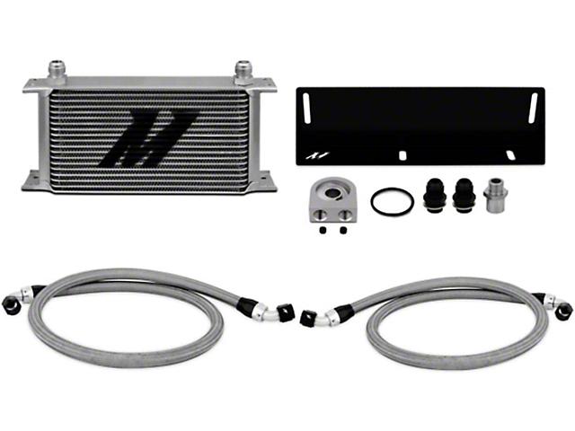 Mishimoto Direct-Fit Performance Oil Cooler - Silver (79-93 5.0L)