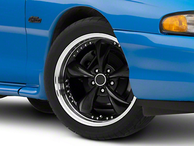 Black Bullitt Motorsport Wheel - 18x9 (94-04 All)