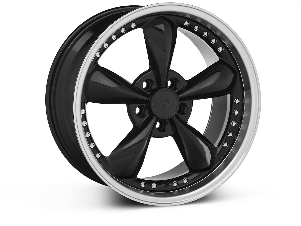 Bullitt Motorsport Black Wheel - 18x9 (87-93 5 Lug Conversion)