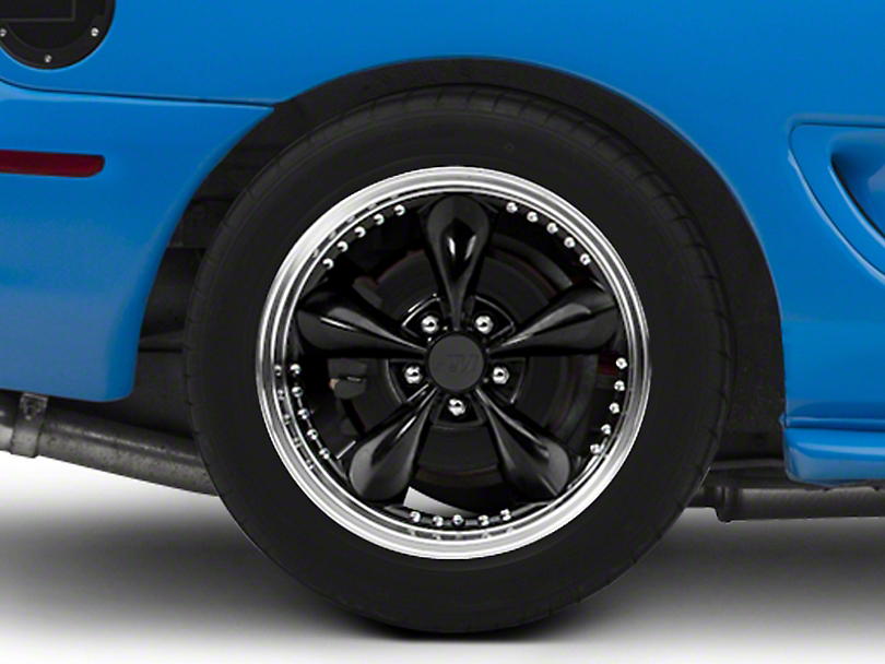 Bullitt Motorsport Black Wheel - 18x10 (94-04 All)