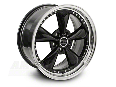 Bullitt Motorsport Black Wheel - 20x8.5 (05-14 V6; 05-10 GT, Excluding GT500)