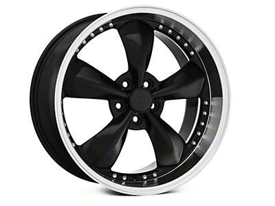 Bullitt Motorsport Black Wheel - 20x10 (05-14 GT, V6)