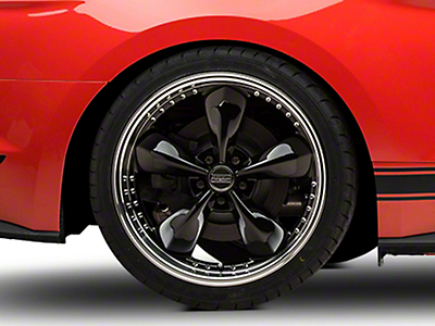 Bullitt Motorsport Black Wheel - 20x10 (15-16 V6, EcoBoost)