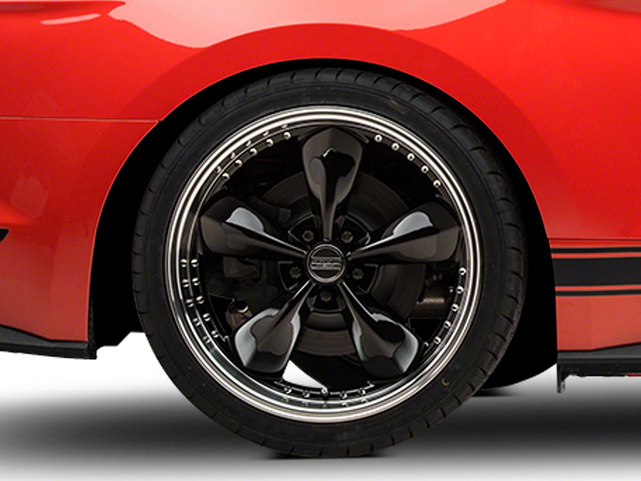 Bullitt Motorsport Black Wheel - 20x10 (15-16 V6, EcoBoost)