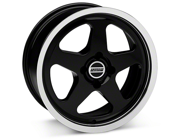 SC Style Black Wheel - 17x8 (87-93; Excludes 93 Cobra)