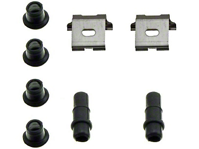 Front Disc Brake Hardware Kit  (94-98 GT, V6)