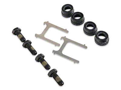 Front Disc Brake Hardware Kit (99-04 GT, V6)