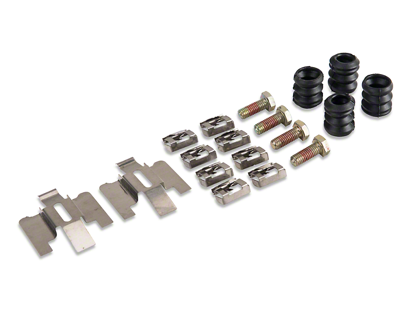 Rear Disc Brake Hardware Kit (94-04 All)