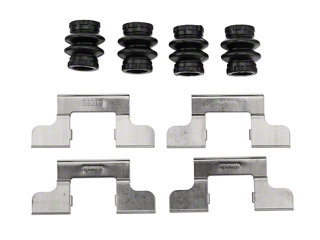 OPR Rear Disc Brake Hardware Kit (05-11 All)